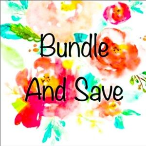 Bundle 2 or more for special offer